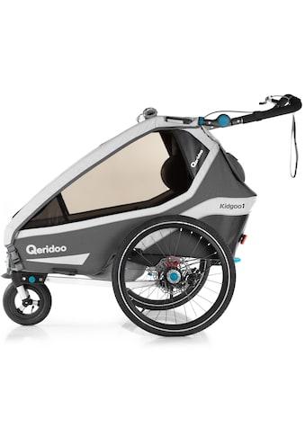 Qeridoo Fahrradkinderanhänger »KIDGOO 1 SPORT« kaufen
