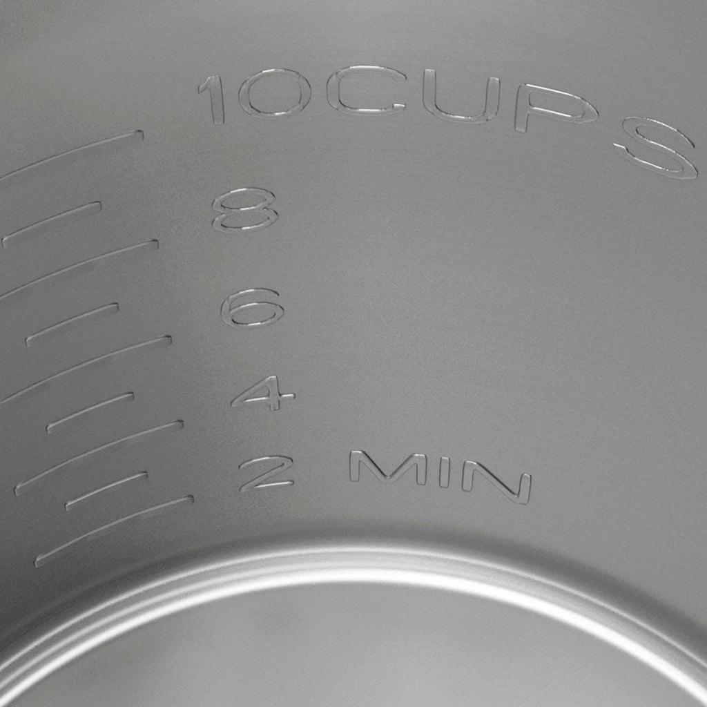 Graef Wasserkocher »WK 901«, 1,2 l, 2015 W, mit Temperatureinstellung, weiß-matt