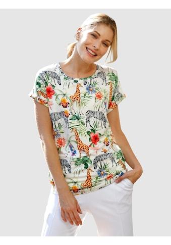 Laura Kent Print-Shirt, mit modischem Tier- und Jungledruck kaufen