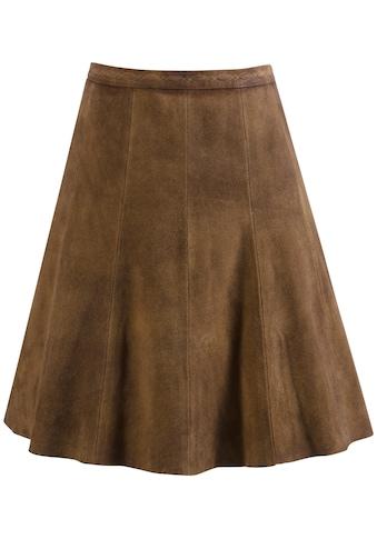 KRÜGER COLLECTION Trachtenrock »Laurena«, mit Zierstickerei kaufen