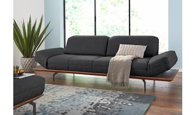 hülsta sofa 4-Sitzer »hs.420«, in 2 Qualitäten, Holzrahmen in Eiche Natur oder Nußbaum kaufen