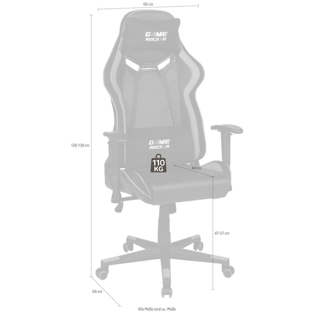 """Duo Collection Gaming Chair """"Game-Rocker G-30"""""""