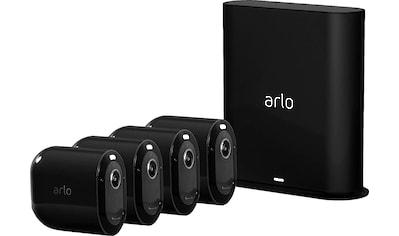 ARLO Pro 3 Sicherheitssystem mit 4 Kameras »kabellose 2K - QHD - Sicherheitskamerasystem« kaufen