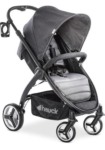 Hauck Kinder-Buggy »Lift Up 4, Caviar Stone«, mit schwenk- und feststellbaren Vorderrädern kaufen