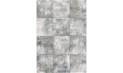 Sanat Teppich »Lorena 2903«, rechteckig, 13 mm Höhe, handgearbeiteter Konturenschnitt, Wohnzimmer kaufen