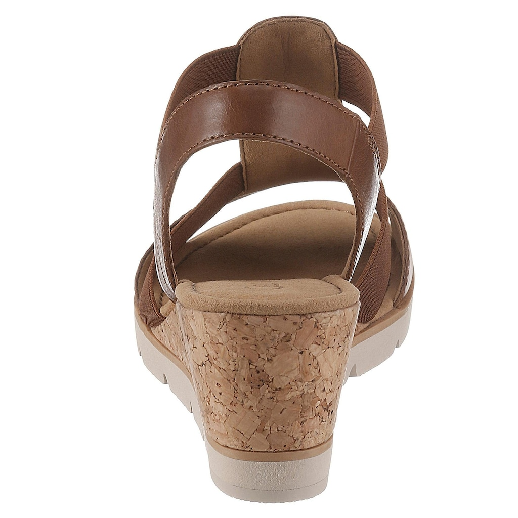 Gabor Sandalette, mit hübschen Holzperlen