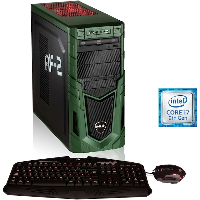 Hyrican »Military Gaming 6459« Gaming-PC (Intel, Core i7, RTX 2070 SUPER, Luftkühlung)