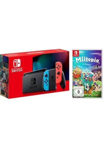 Nintendo Switch Konsolen-Set, inkl. Miitopia kaufen