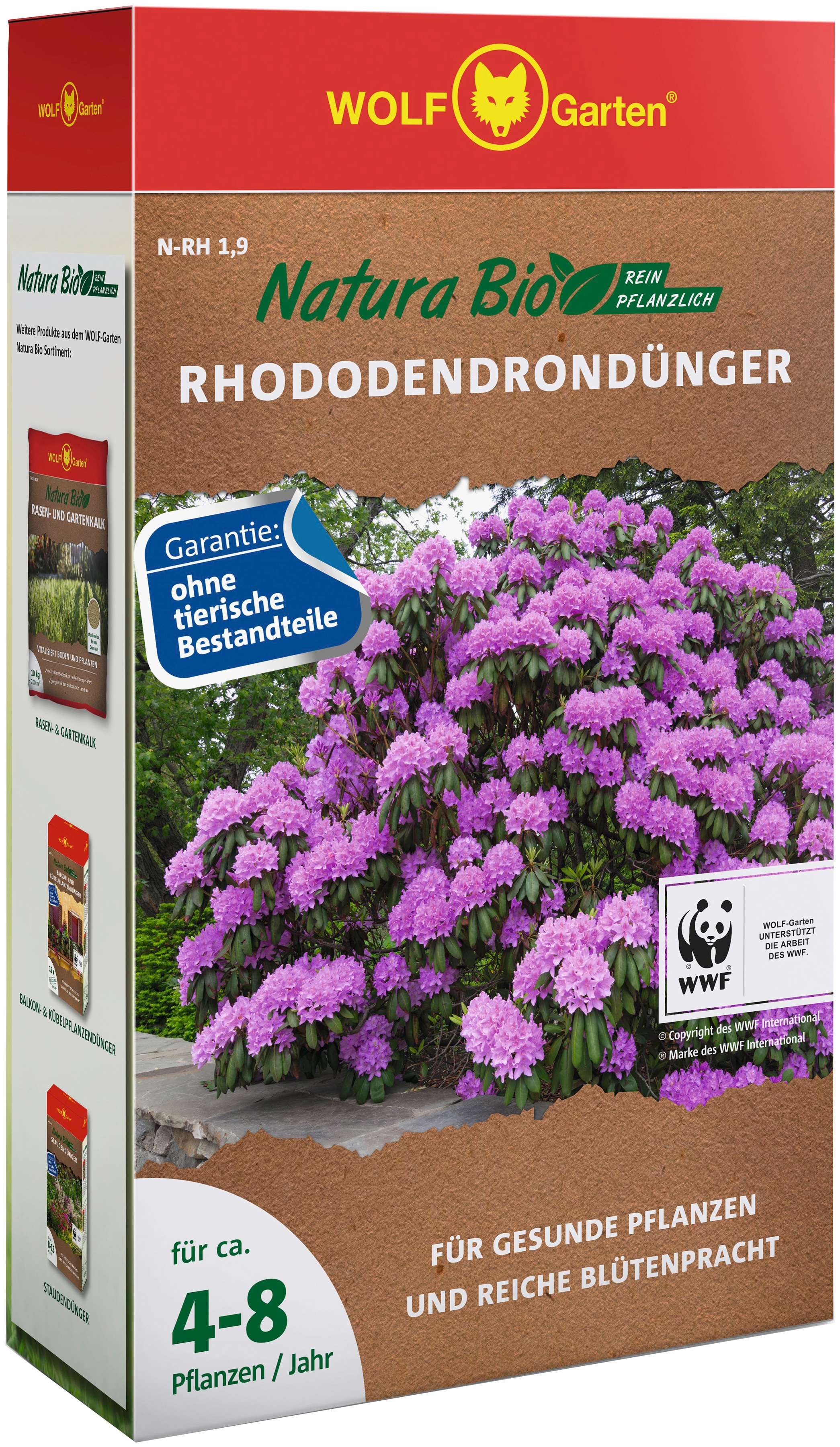 WOLF-Garten Pflanzendünger N-RH 1,9, 1,9 kg grün Zubehör Pflanzen Garten Balkon