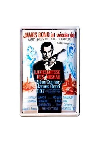 LOGOSHIRT Blechschild mit lässigem James - Bond - Motiv kaufen