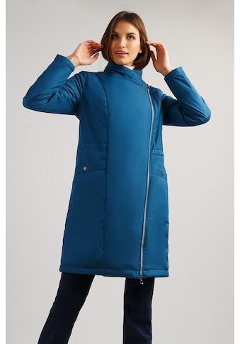 Finn Flare Kurzmantel, mit asymmetrischem Reißverschluss kaufen