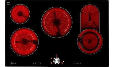 NEFF Elektro-Kochfeld von SCHOTT CERAN® »T18PT16X0«, T18PT16X0, mit TwistPad® Bedienung kaufen