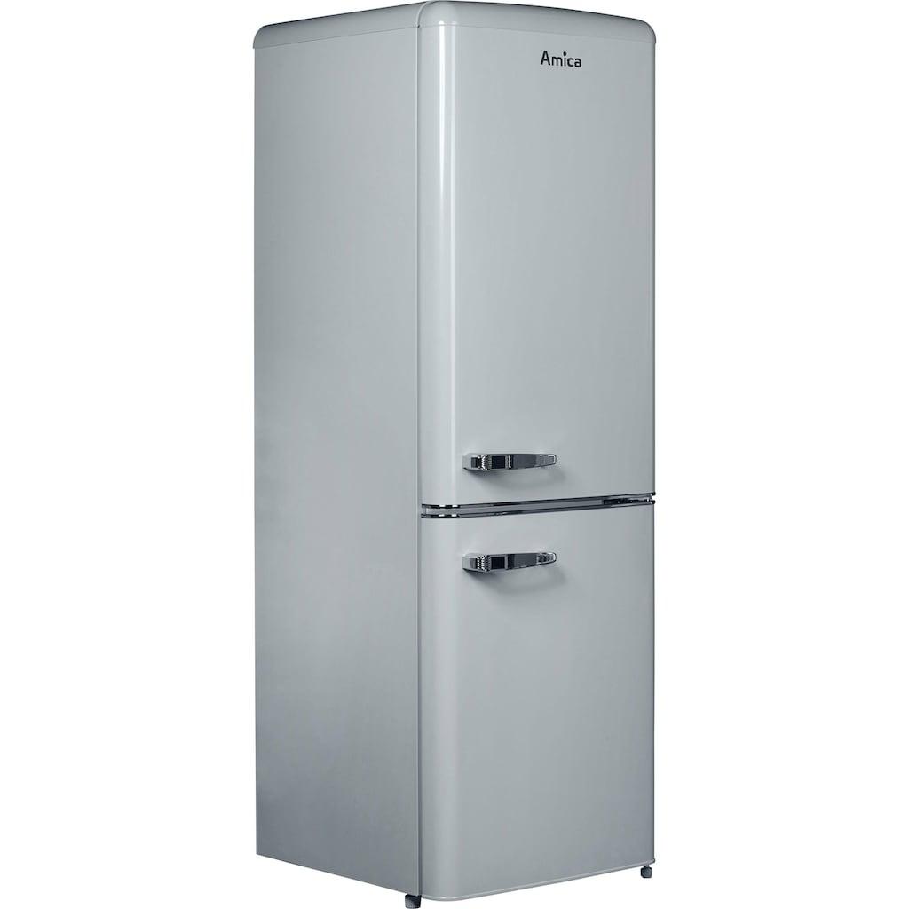 Amica Kühl-/Gefrierkombination »KGCR 386 100 G«, KGCR 386 100 G, 162 cm hoch, 55,5 cm breit