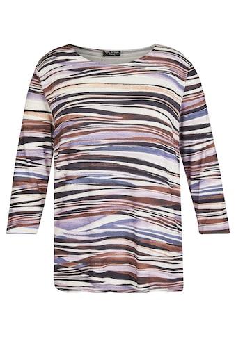 VIA APPIA DUE 3/4-Arm-Shirt, mit gestreiftem Muster kaufen