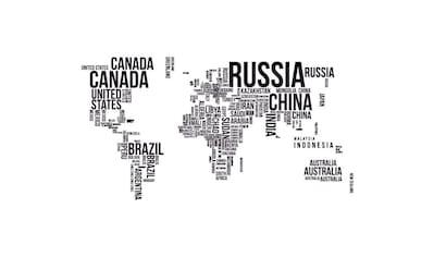 Wall-Art Wandtattoo »Schriftzug Weltkarte Lernhilfe« kaufen