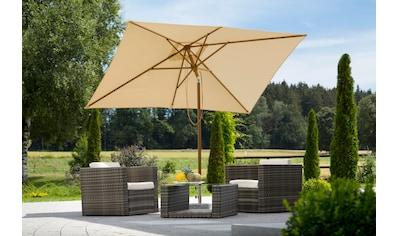SCHNEIDER SCHIRME Sonnenschirm Malaga 300x200 Cm Ohne Schirmstander Kaufen