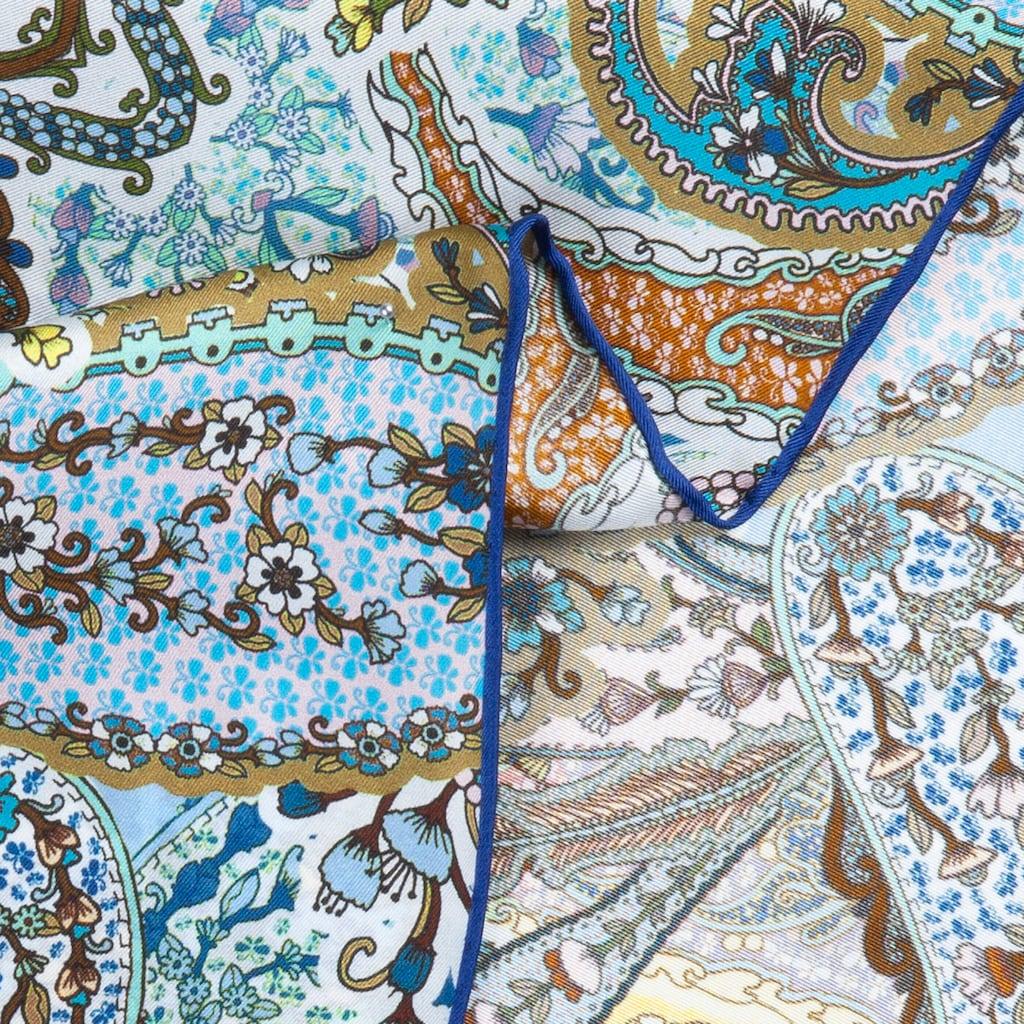 Codello Seidentuch, aus reiner Seide mit Paisley-Muster