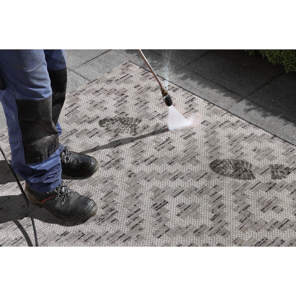 ELLE Decor Läufer »Creil«, rechteckig, 3 mm Höhe, In- und Outdoorgeeignet