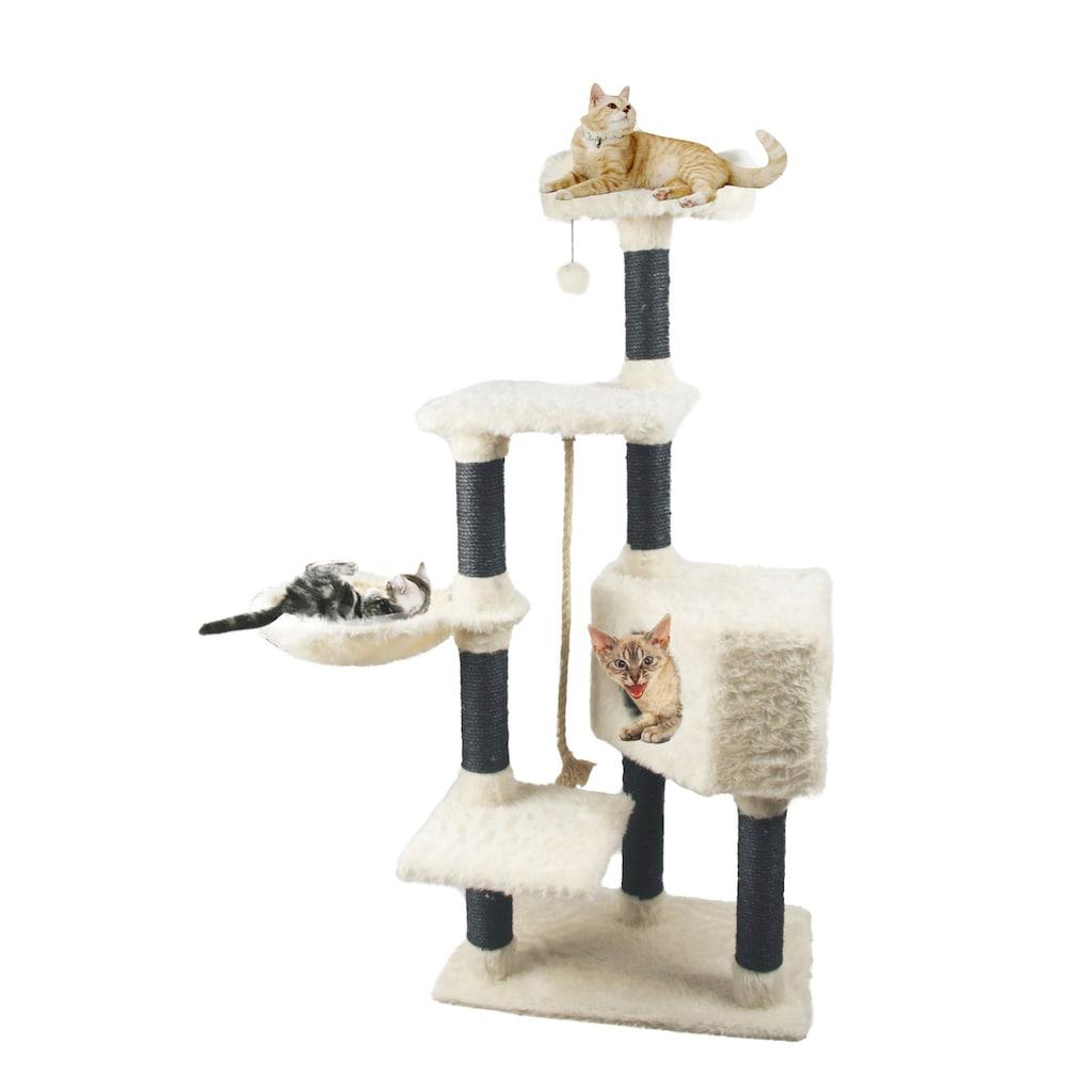 HEIM Kratzbaum »White Cat«, hoch, BxTxH: 60x36x139