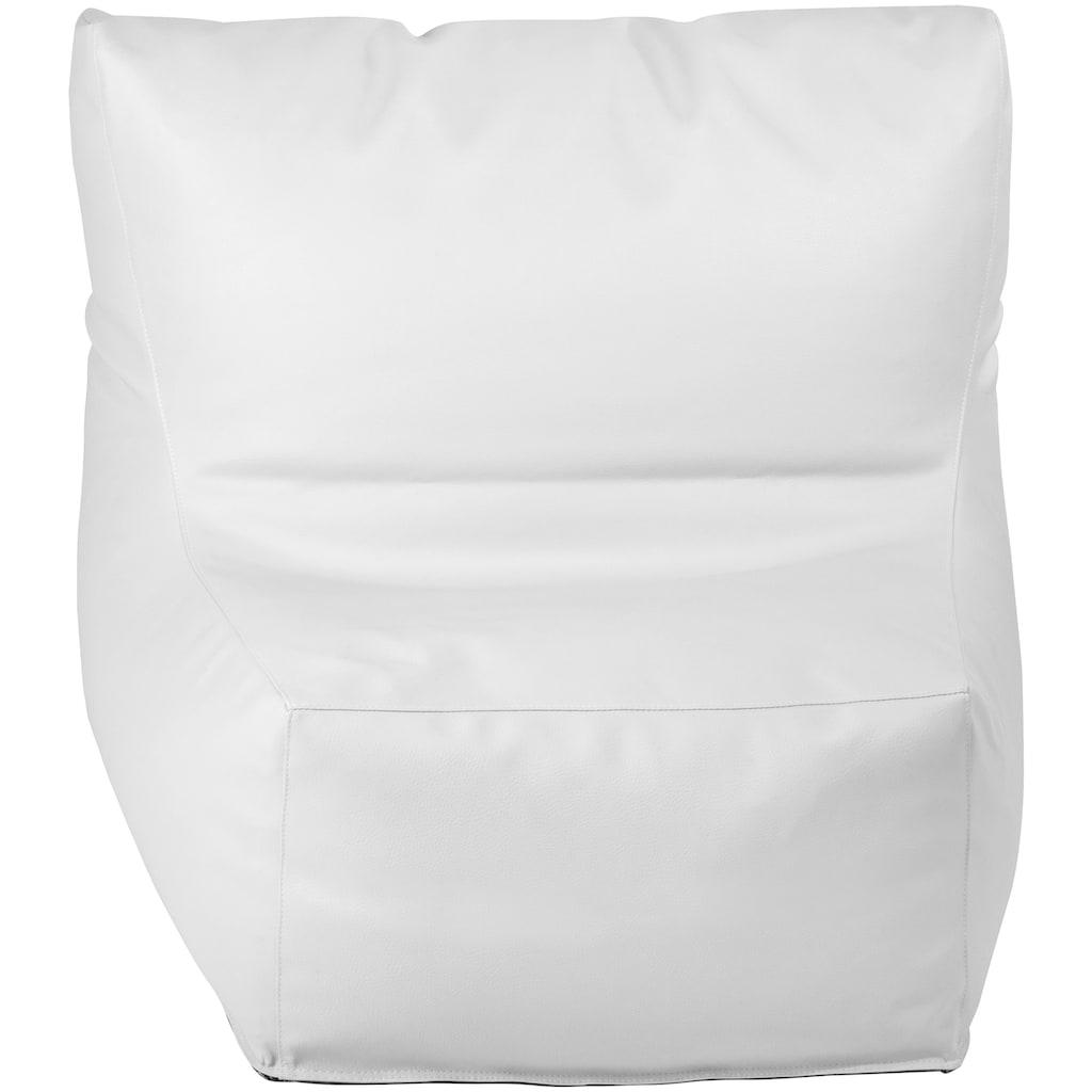 OUTBAG Sitzsack »Piece Skin«, wetterfest, für den Außenbereich, BxT: 90x115 cm