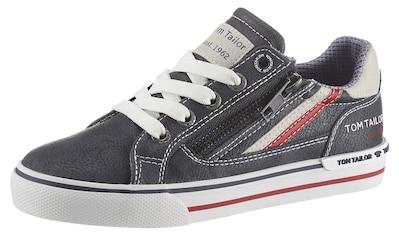 TOM TAILOR Sneaker, mit Reißverschluss an der Außenseite kaufen