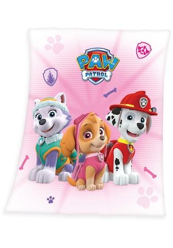 PAW PATROL Kinderdecke »Paw Patrol«, mit süßen Hunden kaufen
