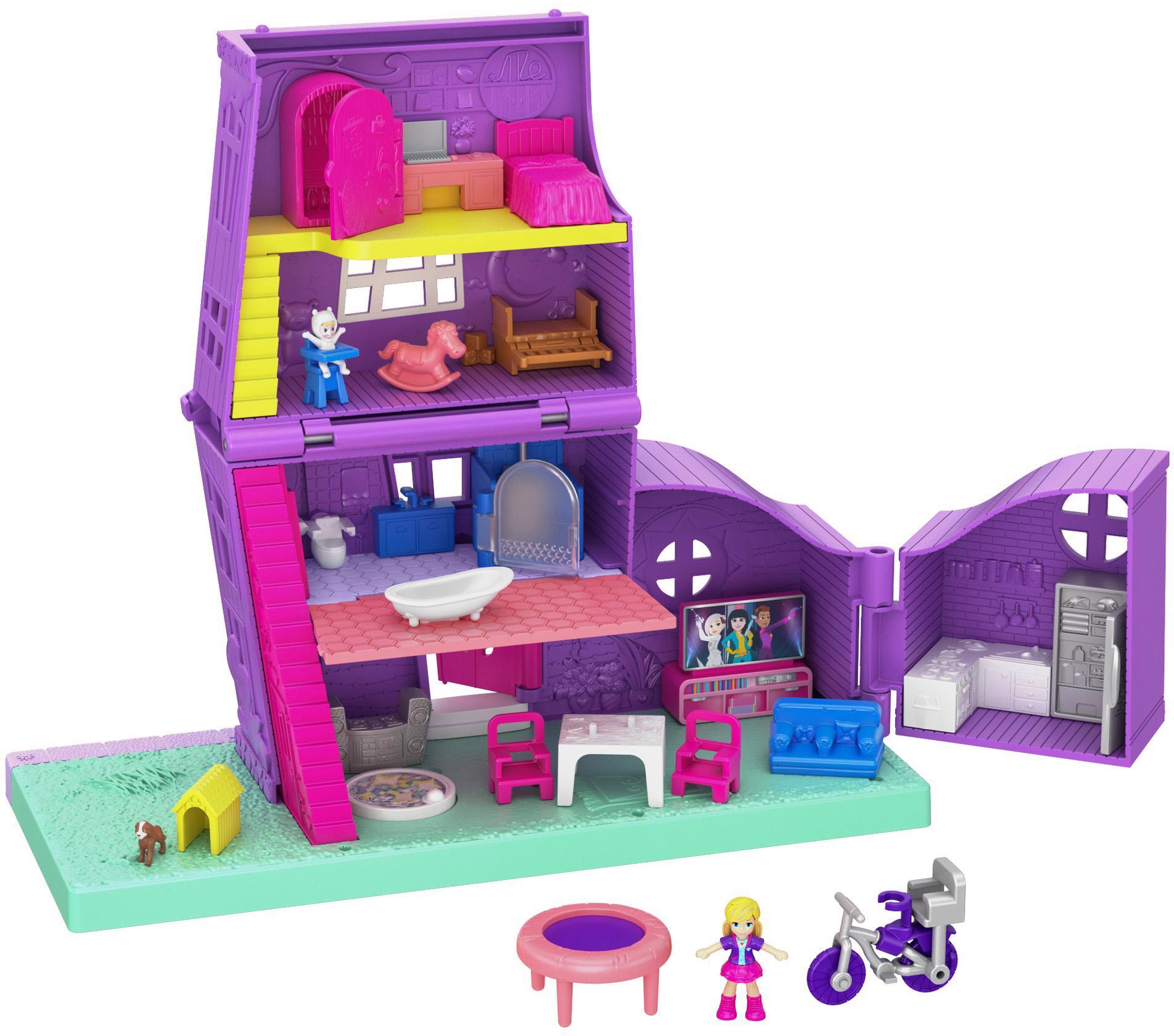 "Mattel Puppenhaus ""Polly Pocket Pollys Haus"" Kindermode/Spielzeug/Puppen/Puppenhaus"