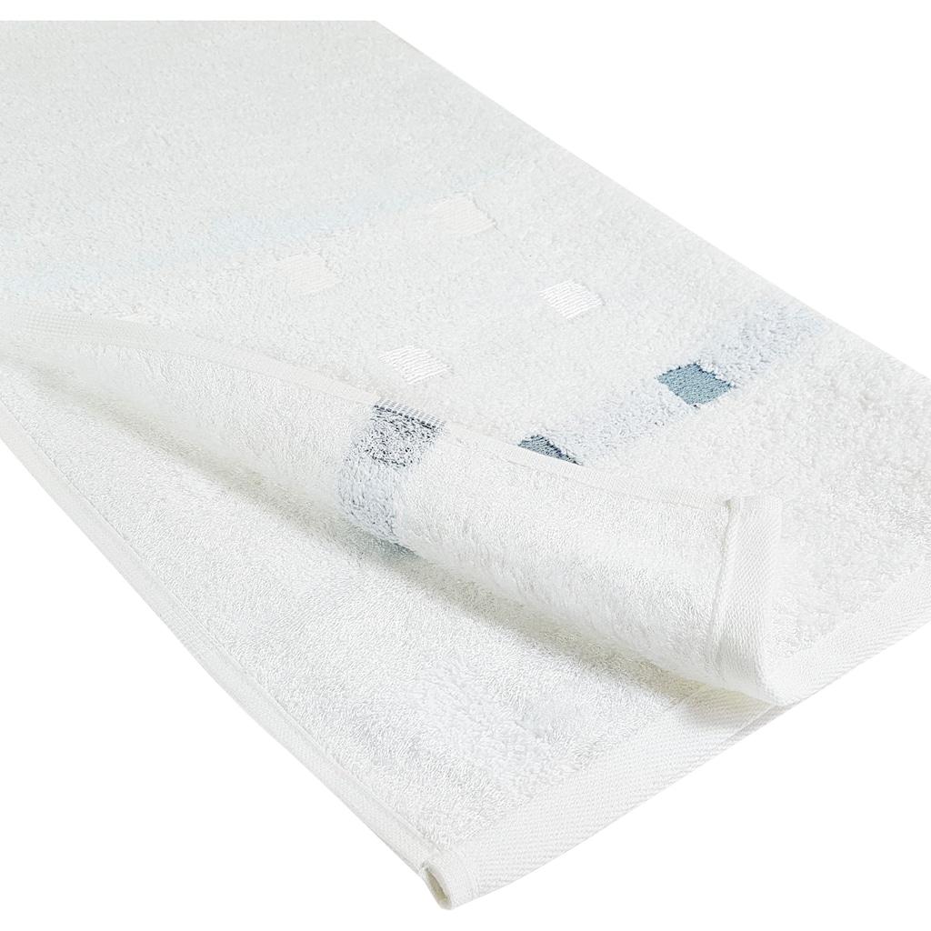 framsohn frottier Handtücher »Quattro«, (2 St.), Mit natürlich weicher, CO2 neutraler Buchenholzfaser