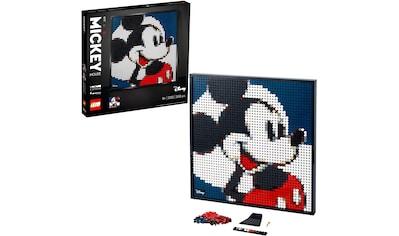 LEGO® Konstruktionsspielsteine »Disney's Mickey Mouse (31202), LEGO® Art«, (2658 St.) kaufen