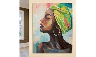 GILDE Leinwandbild »Gemälde Makeda« kaufen