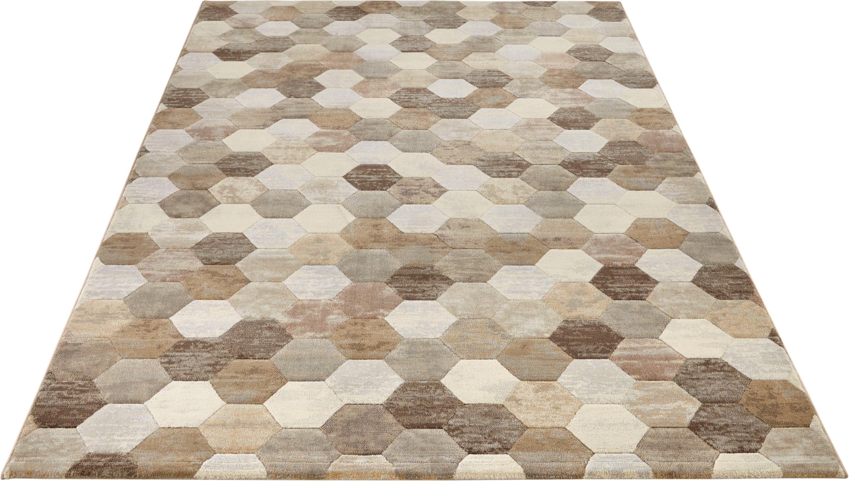 Teppich Manosque ELLE Decor rechteckig Höhe 11 mm maschinell gewebt