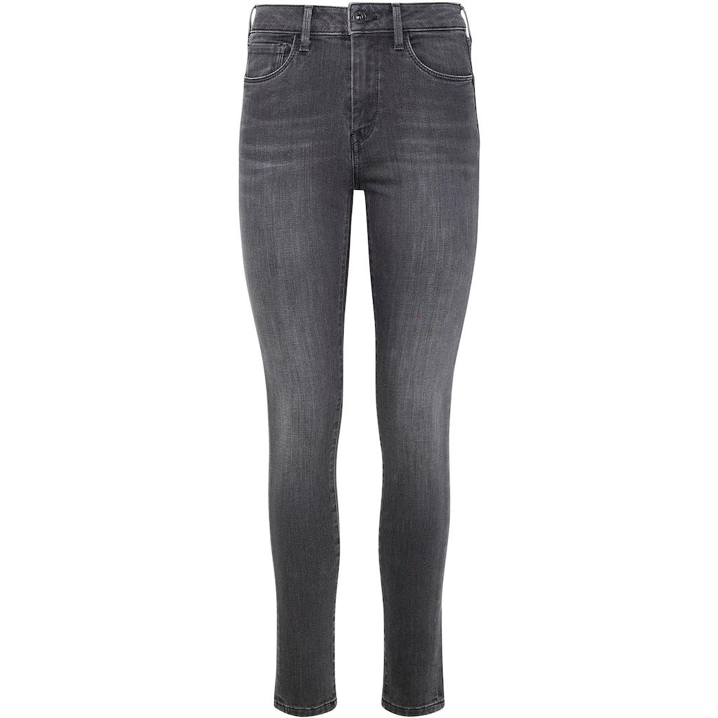 Pepe Jeans Röhrenjeans »REGENT«, im 5-Pocket-Stil mit hoher Leibhöhe