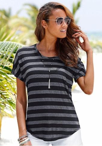 Beachtime T-Shirt, im tollen Streifendesign kaufen