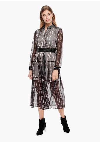 s.Oliver BLACK LABEL A - Linien - Kleid kaufen