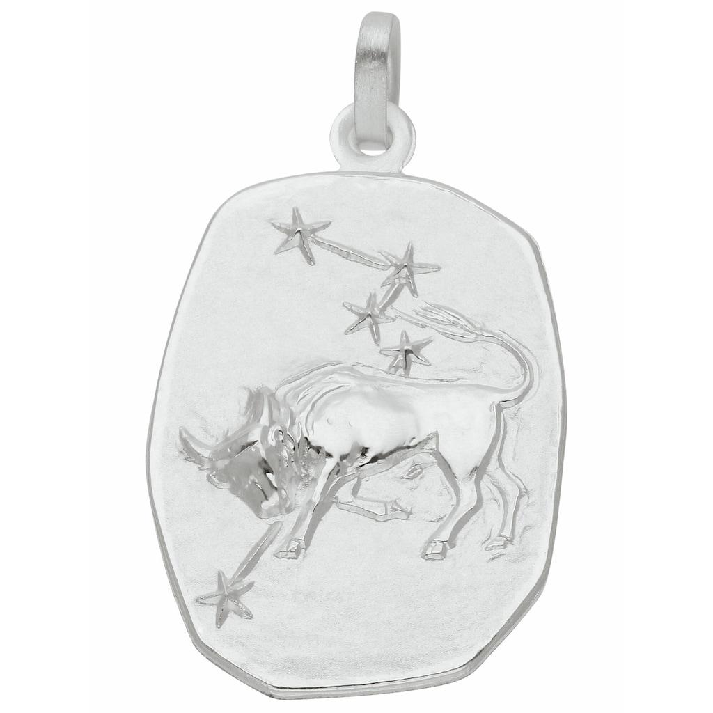 Adelia´s Kettenanhänger »925 Silber Sternzeichen Anhänger Stier«