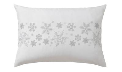 Dreams Kissenbezug »Schneeflocke«, (1 St.), mit aufwendiger Stickerei kaufen