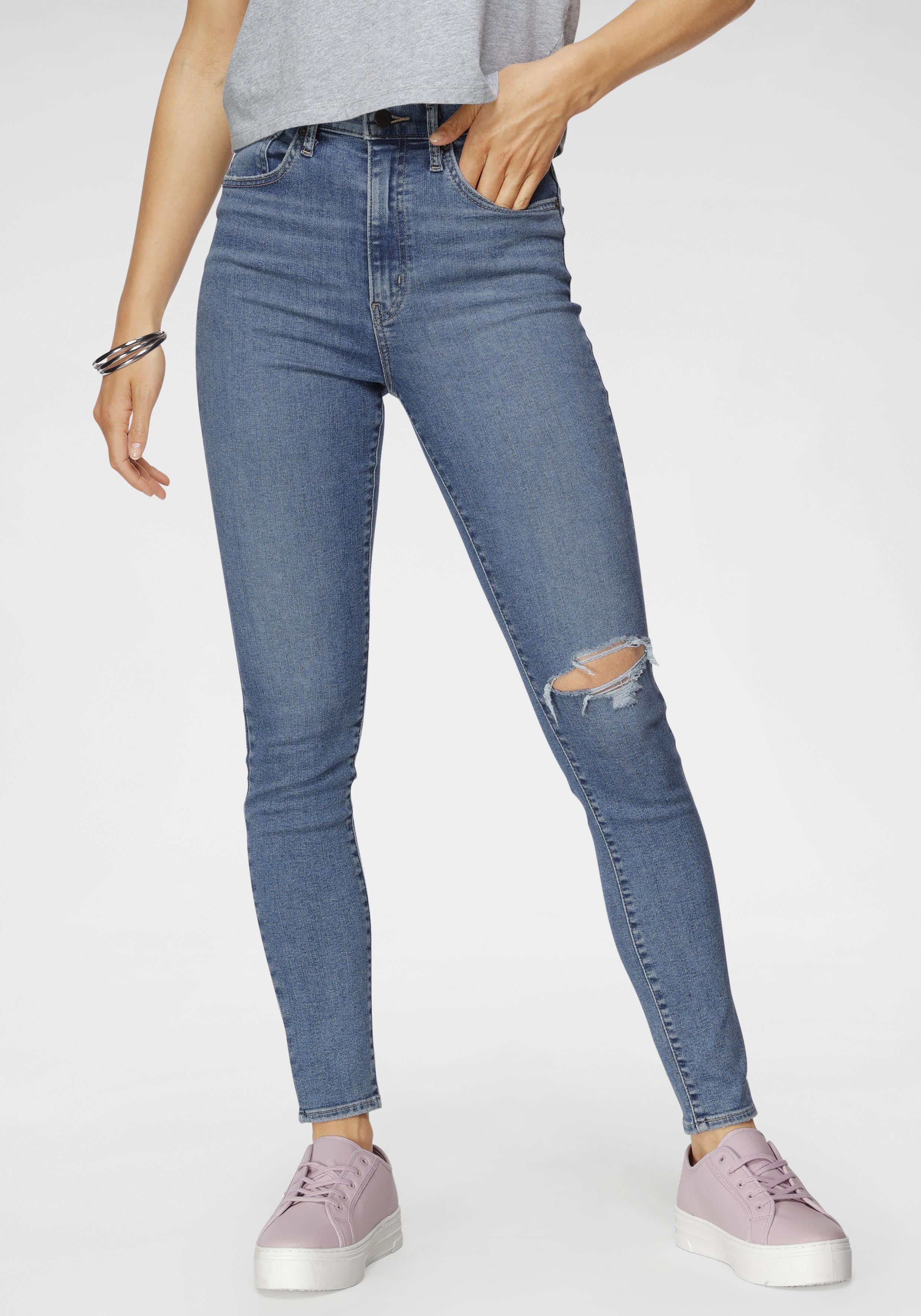 levis - Levi's Skinny-fit-Jeans MILE HIGH SUPER SKINNY