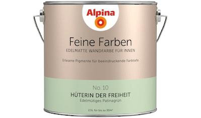 ALPINA Wand -  und Deckenfarbe »Feine Farben  -  Hüterin der Freiheit«, 2,5 l kaufen