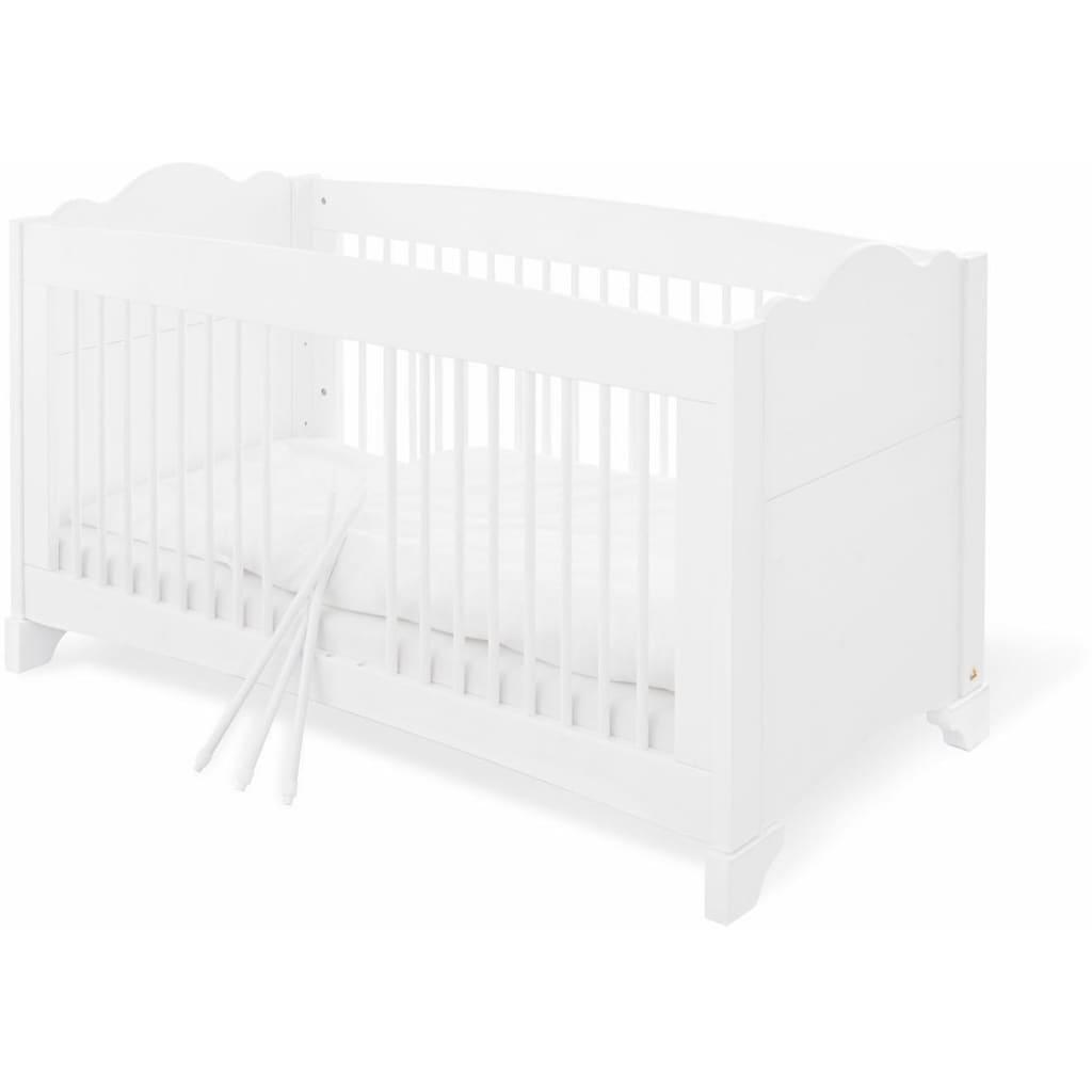 Pinolino® Babyzimmer-Komplettset »Pino«, (Set, 3 St.), breit groß; mit Kinderbett, Schrank und Wickelkommode; Made in Europe
