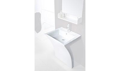 Cornat Mineralgussmarmor Waschplatz / Waschbecken »Seven« Breite 55,5 cm kaufen