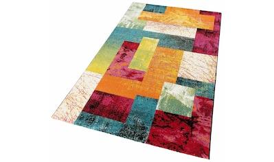LALEE Teppich »Lima 303«, rechteckig, 15 mm Höhe, Wohnzimmer kaufen