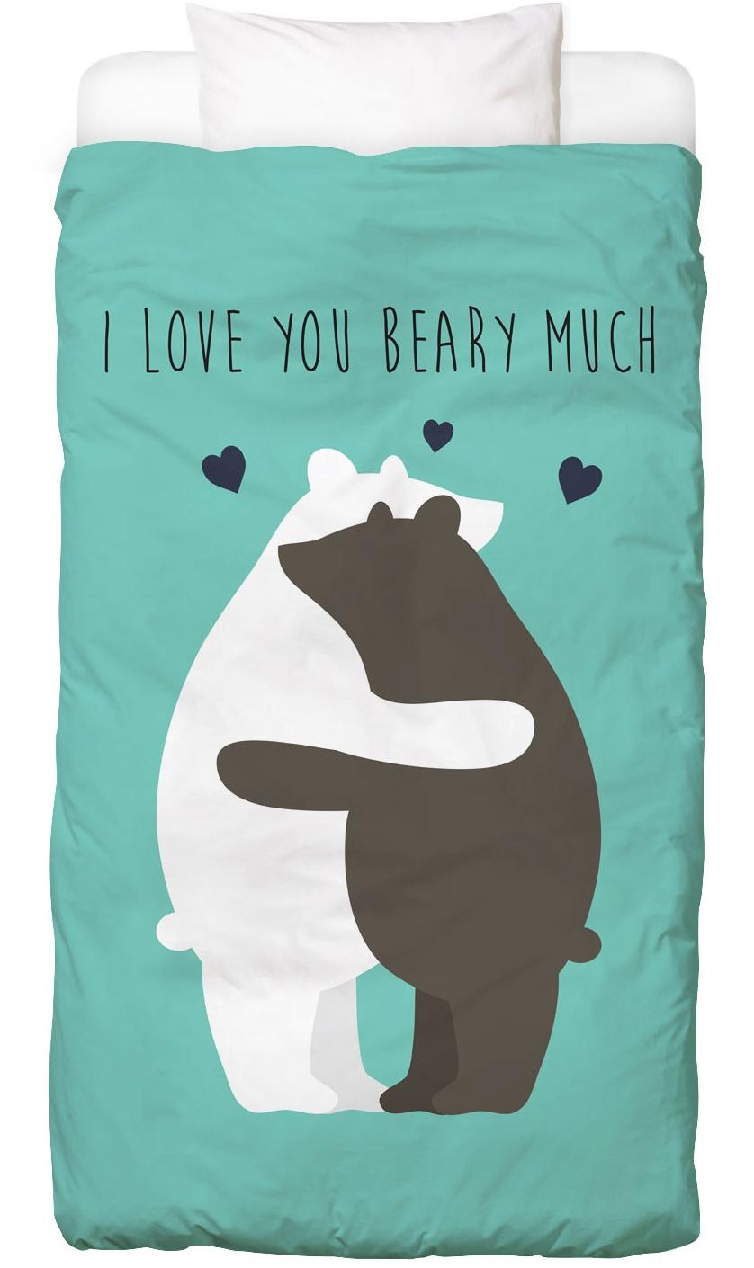 Bettwäsche I Love You Beary Much Juniqe