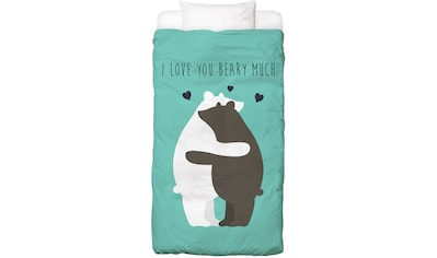 Bettwäsche »I Love You Beary Much«, Juniqe kaufen