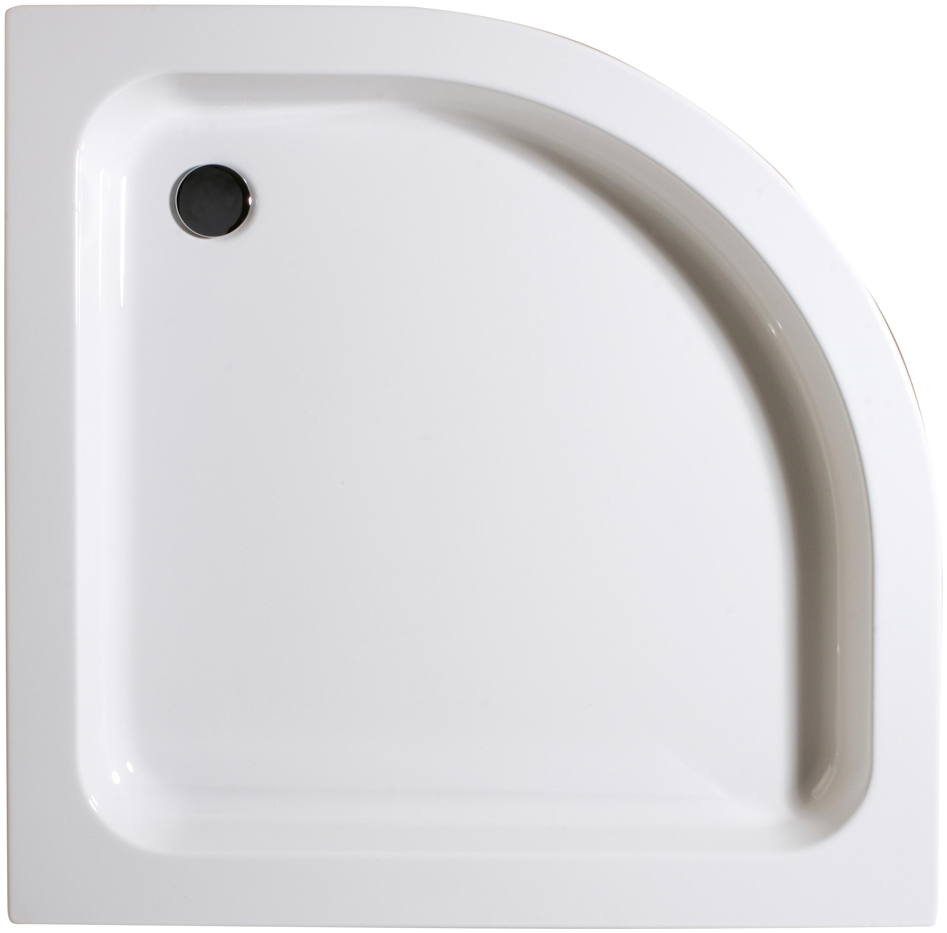 Schulte Duschwanne, flach, 90 x cm weiß Duschwannen Duschen Bad Sanitär