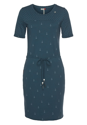 Ragwear Jerseykleid »NUGGIE DRESS«, (2 tlg., mit Bindegürtel), im Sailor Look mit... kaufen