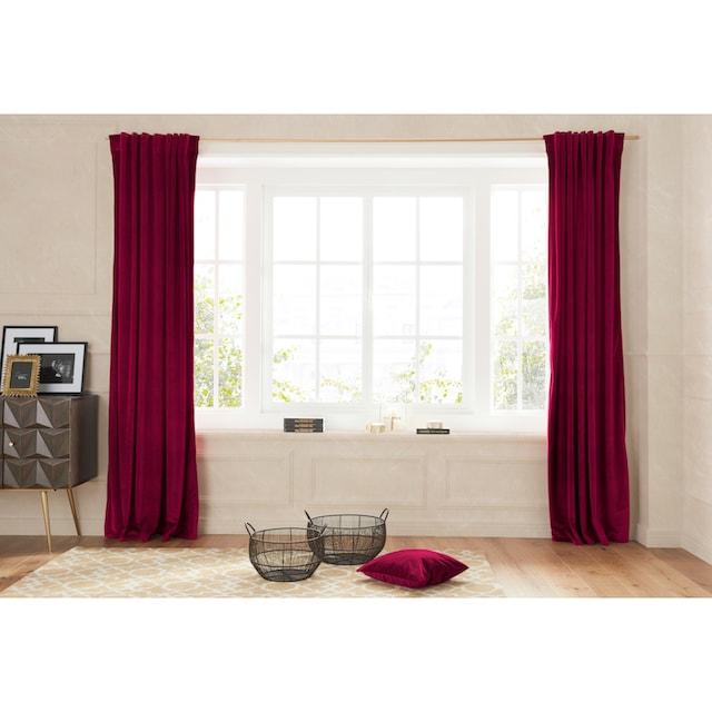 Vorhang, »SAMT«, Guido Maria Kretschmer Home&Living, Multifunktionsband 1 Stück