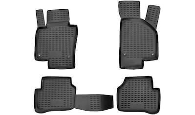 WALSER Passform-Fußmatten »XTR«, VW, Passat, Kombi-Stufenheck, (4 St., 2 Vordermatten,... kaufen