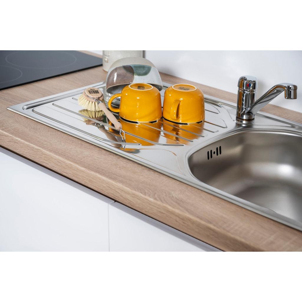 RESPEKTA Küchenzeile »Boston«, mit E-Geräten, Breite 370 cm