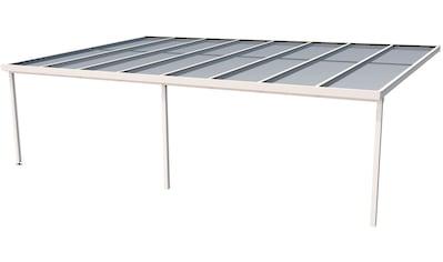 GUTTA Terrassendach »Premium«, BxT: 813x506 cm, Dach Acryl bronce kaufen