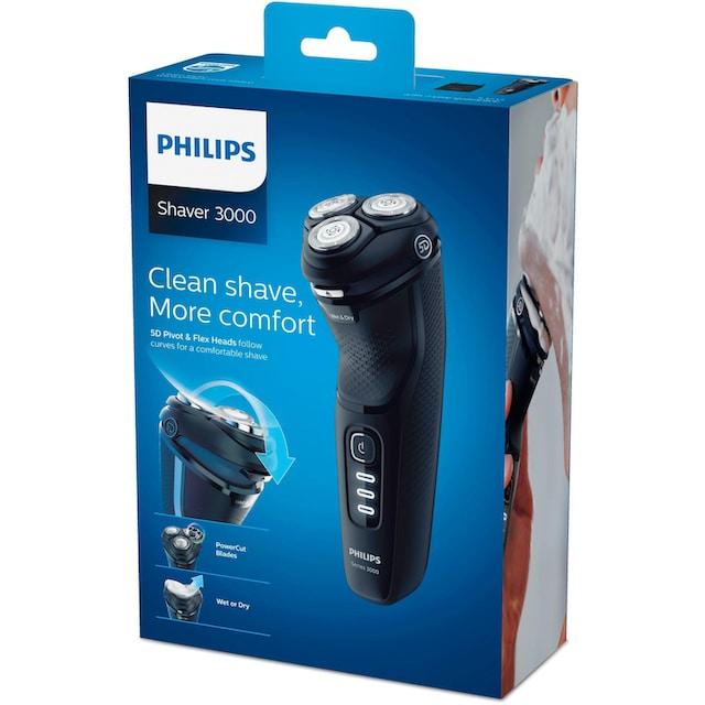 Philips, Elektrorasierer S3233/52 Series 3200, ausklappbarer Langhaarschneider